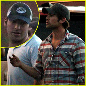 Chace Crawford: Family Vacation with Tony Romo!