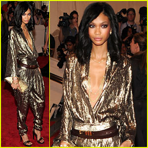 Chanel Iman: MET Ball 2010