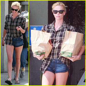 Charlize Theron: Paper Bag Lady