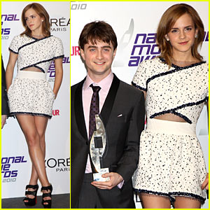 Emma Watson: National Movie Awards with Daniel Radcliffe!