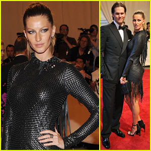 Gisele Bundchen: MET Ball with Tom Brady!