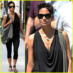 Halle Berry Hits Rue 57 & Rozzoli