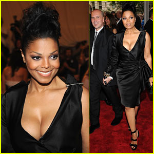 Janet Jackson: MET Ball 2010