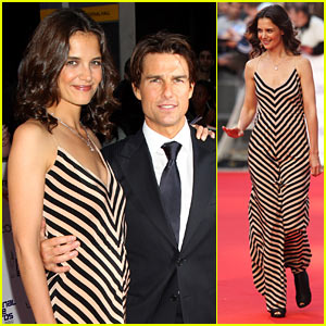 Katie Holmes: National Movie Awards with Tom Cruise!