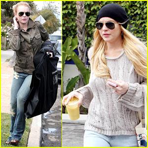 Lindsay Lohan to Chanel: Pimp My SCRAM Bracelet!