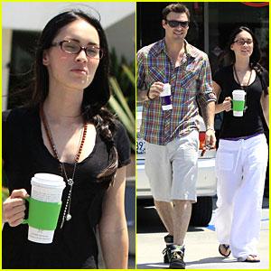 Megan Fox: Coffee Bean Bliss!