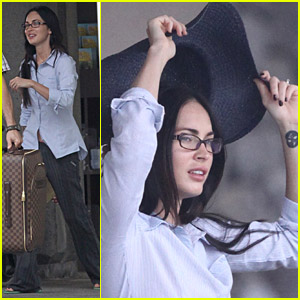 Megan Fox Makes It To Maui
