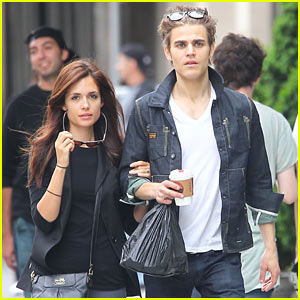 Paul Wesley & Torrey DeVitto: Soho Sweethearts