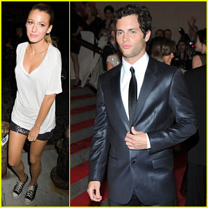 Penn Badgley: MET Ball with Blake Lively!