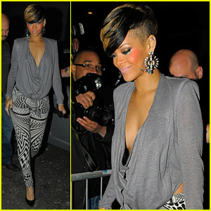 Rihanna Makes It A Merah Night