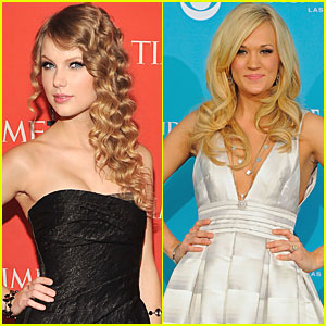 Taylor Swift & Carrie Underwood Top CMT Music Award Nominations