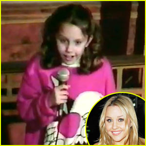 Amanda Bynes Doing Stand-Up Comedy at Age 10 -- VIDEO