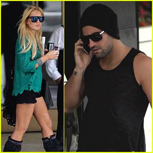 Lindsay Lohan & Brody Jenner Car Pool