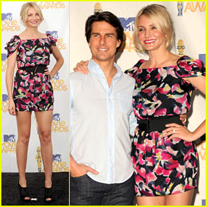 Cameron Diaz: MTV Movie Awards with Tom Cruise!