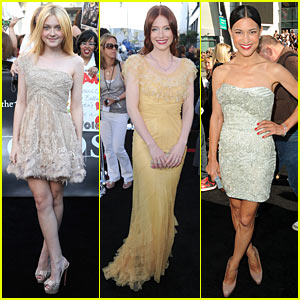 Dakota Fanning & Bryce Dallas Howard: Eclipse Premiere!
