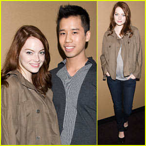 Emma Stone Scores an 'Easy A'