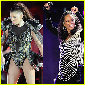 Fergie: World Cup Kick-Off with Alicia Keys!