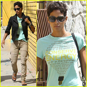 Halle Berry: Conserve Energy!