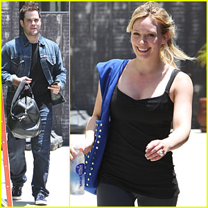 Hilary Duff & Mike Comrie: Workout Partners!