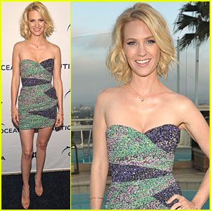 January Jones: World Oceans Day Party!