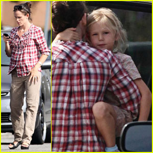 Jennifer Garner & Violet Affleck: Playdate Pair