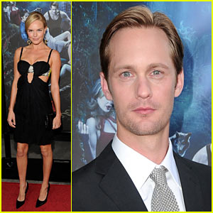 Alexander Skarsgard: True Blood Premiere with Kate Bosworth!