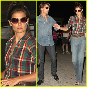 Katie Holmes & Tom Cruise: Dinner Date!