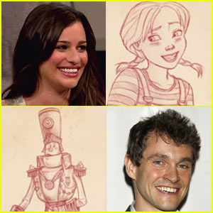 Lea Michele's 'Dorothy of Oz' Character Sketches -- FIRST LOOK