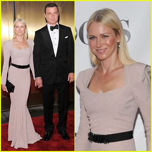Naomi Watts: Tony Awards with Liev Schreiber