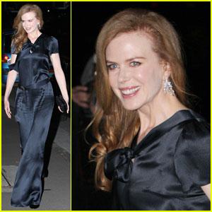 Nicole Kidman: Silk Jumpsuit!