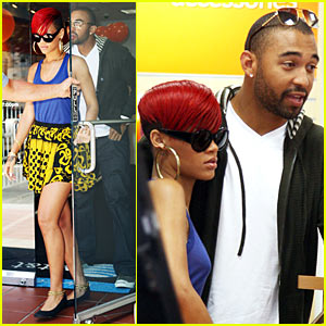 Rihanna: iPhone Upgrade with Matt Kemp!