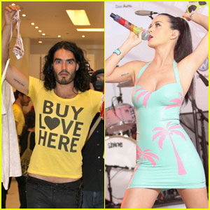 Russell Brand & Katy Perry: New Matching Tattoos!