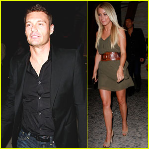 Ryan Seacrest & Julianne Hough: Mexican Meal Together!