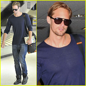 Alexander Skarsgard: Hot, Flat, and Crowded!