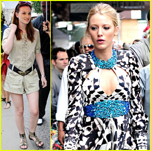 Blake Lively: Sundress Peek-a-boo