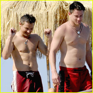 Channing Tatum & Jeremy Renner: Shirtless Studs