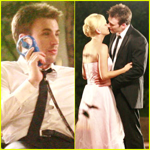 Chris Evans & Anna Faris: Kissing Couple
