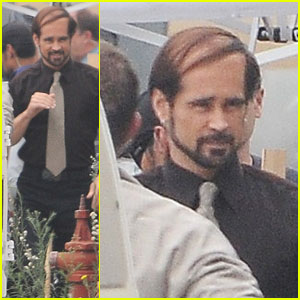 Bald Colin Farrell -- Now With A Comb Over!