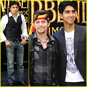 Dev Patel & Jackson Rathbone: Madrid Men