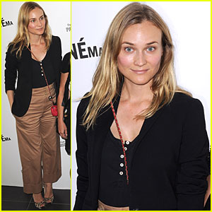 Diane Kruger: Parisian Premiere!