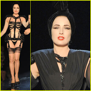 Dita Von Teese: Haute Couture For Jean-Paul Gaultier Runway