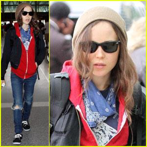 Ellen Page: Little LAX Red Riding Hood