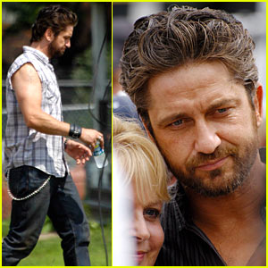 Gerard Butler: Bridge Cafe Preacher