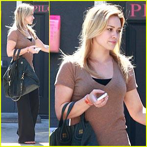 Hilary Duff: Pilox Program!