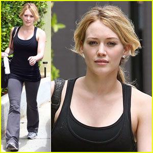 Hilary Duff is Shaping Up Nicely