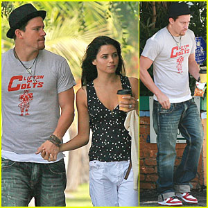 Channing Tatum & Jenna Dewan are Sunday Shoppers