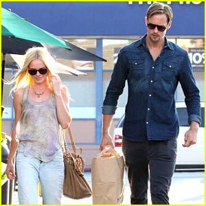Kate Bosworth: Bristol Farms with Alexander Skarsgard!