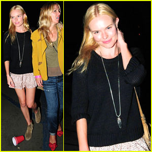 Kate Bosworth: Kings of Leon Concert with Alexander Skarsgard!