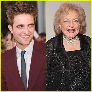 Robert Pattinson: Betty White Can Play Renesmee