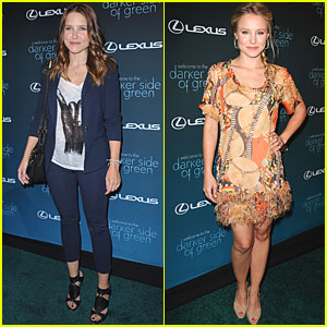 Kristen Bell &#038; Sophia Bush: Darker Side of Green Gorgeous